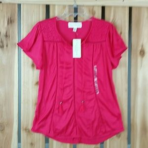 French Laundry Pink Top NWT